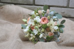 esküvői virágcsokrok