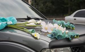 esküvői virágdíszítés