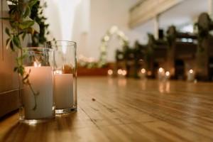 templomdíszítés esküvőre