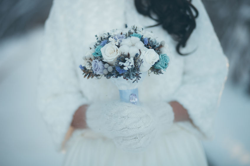 Téli esküvői virágdekorációs ötletek