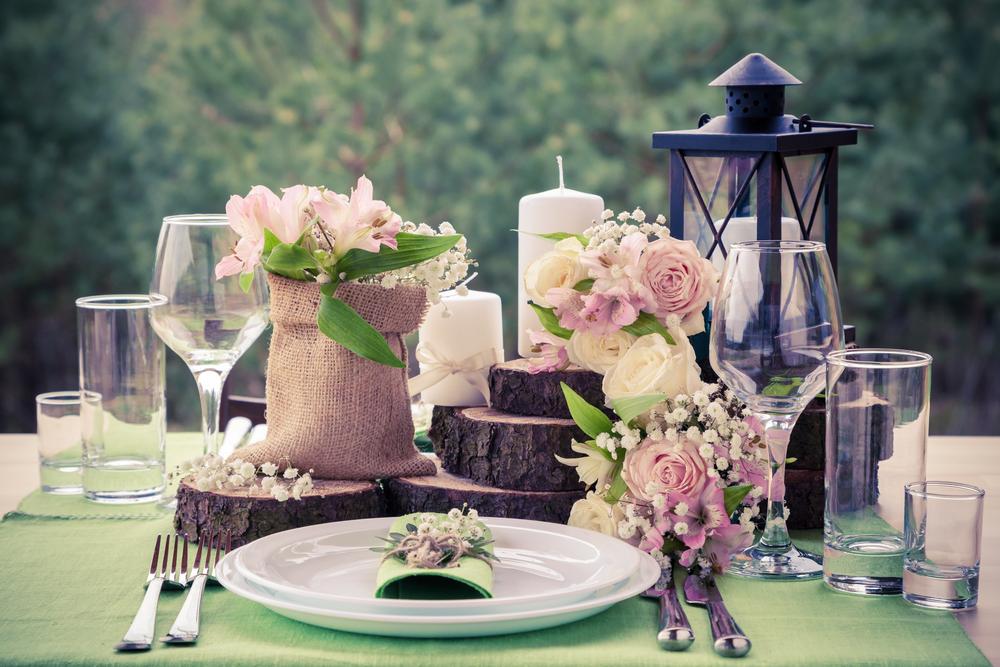 Vintage stílusú dekoráció esküvőkre!