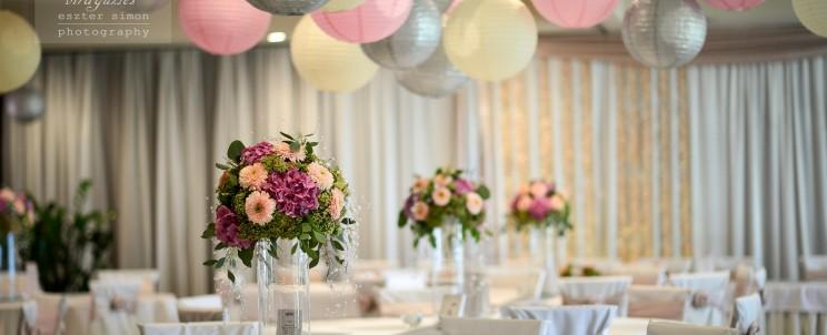 elegáns esküvői dekorációk